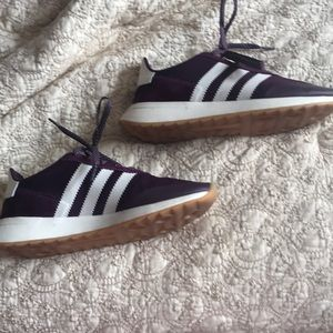 Adidas tennis shoes, worn twice